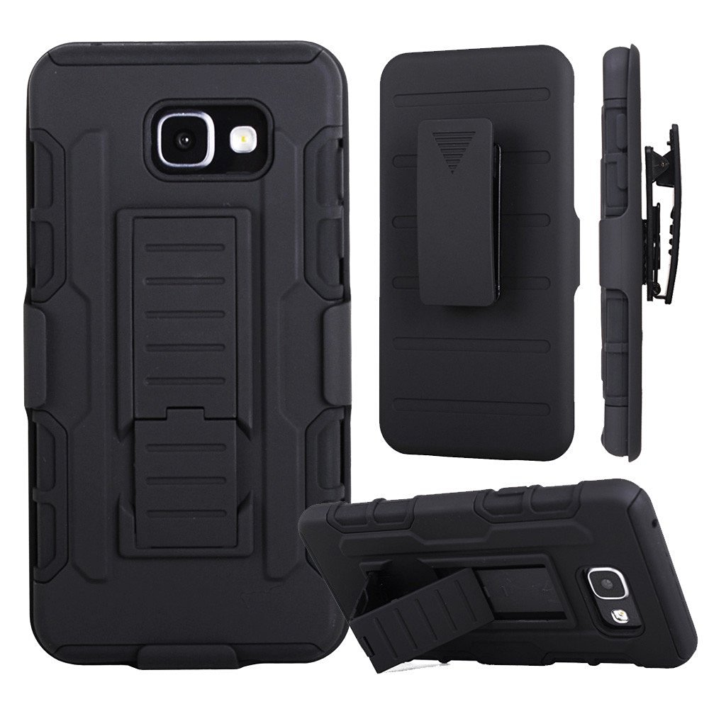 Lancase For Samsung A5 2016 Case Belt Clip Holster