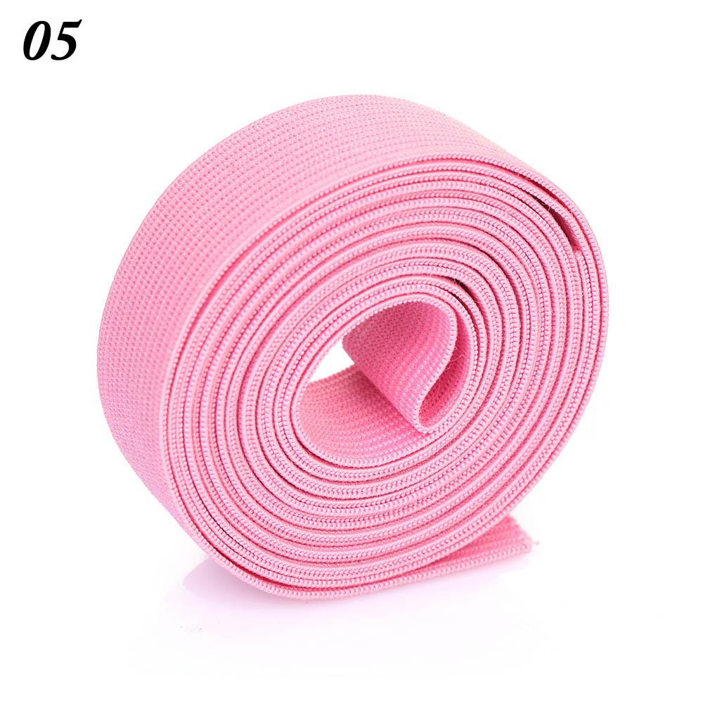2 м/рулон многофункциональная эластичная лента плотная плетеная резинка из полиэстера шитье из кружева отделка ленты для талии аксессуары для одежды домашний текстиль
