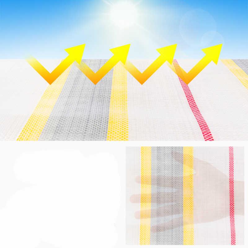 กันน้ำกลางแจ้ง Sun Shelter หนาปกคลุมขอบ Hang Hole รถฝาครอบกันสาดระเบียงป้องกันดวงอาทิตย์ตาข่าย