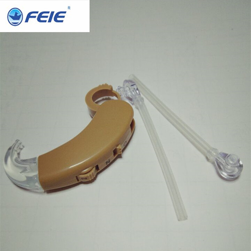 Hearing Aid sound voice amplifier Medico Equipment Knowles Earphone Long Ear Hook amplificador hearing device S-998 Free shippin feie s 520 ear hook amplifier sound for hearing machine cheap hearing aid china price free shipping