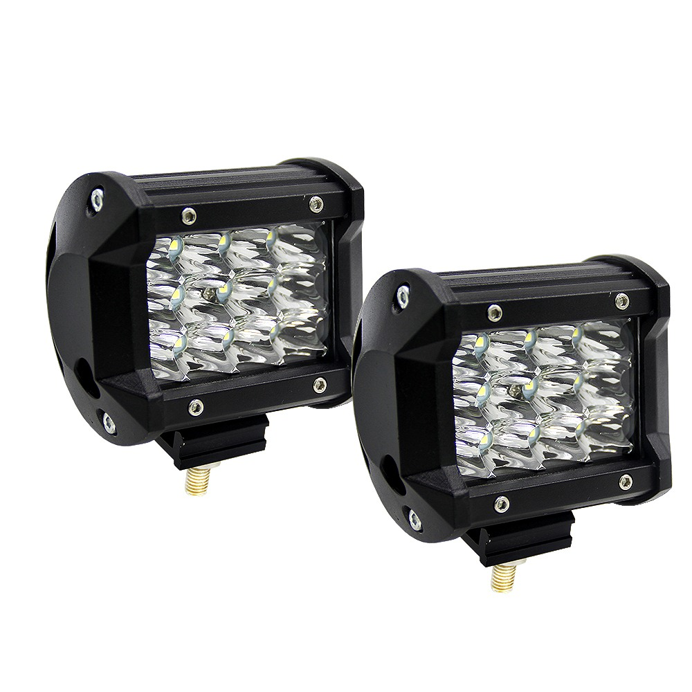 4 Inch 36W Three Rows Car Work Light Modified Off Road Roof Light Daytime Running Lights Car Styling  Front Light Led Light Bar-in Car Light Assembly from Automobiles & Motorcycles