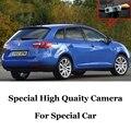 Câmera do carro Para SEAT IBIZA 6J ST MK4 5D 2009 ~ 2016 Alta Qualidade Rear View Camera Back Up Para usar | CCD Com RCA
