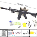 M4 Toy Gun Continuous Fire Sniper Rifle Nerf Gun Soft Water Bullet Electric Gun Toys for Boys M4A1 Submachine Nerf Machine Gun