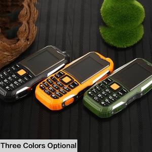 Image 3 - Xeno J1 büyük pil 3800mAh telefon çift SIM GSM darbeye dayanıklı cep telefonu büyük meşale hoparlör kıdemli yaşlı cep telefonu rus SOS