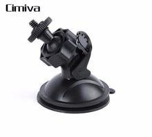Cimiva Car Suction Cup Mount Tripod Holder Car Mount Holder for Car GPS DV DVR for gopro Camera Universal Accessories