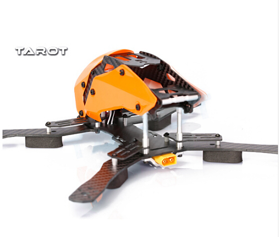 F16596 tl280h tarot 280mm semi-carbono marco racer kit para multicopter de quadcopter fpv
