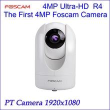 2017 Najnowszy Foscam R4 1440 P 4MP Ultra HD Bezprzewodowa P2P Bezpieczeństwa nadzór Kamera Z 26 Stóp z Noktowizor WIFI IP kamera