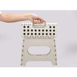 Image 5 - Tabouret de salle de bain anti dérapant Super fort le tabouret de marche pliable léger est assez robuste pour soutenir les adultes et sûr pour les enfants