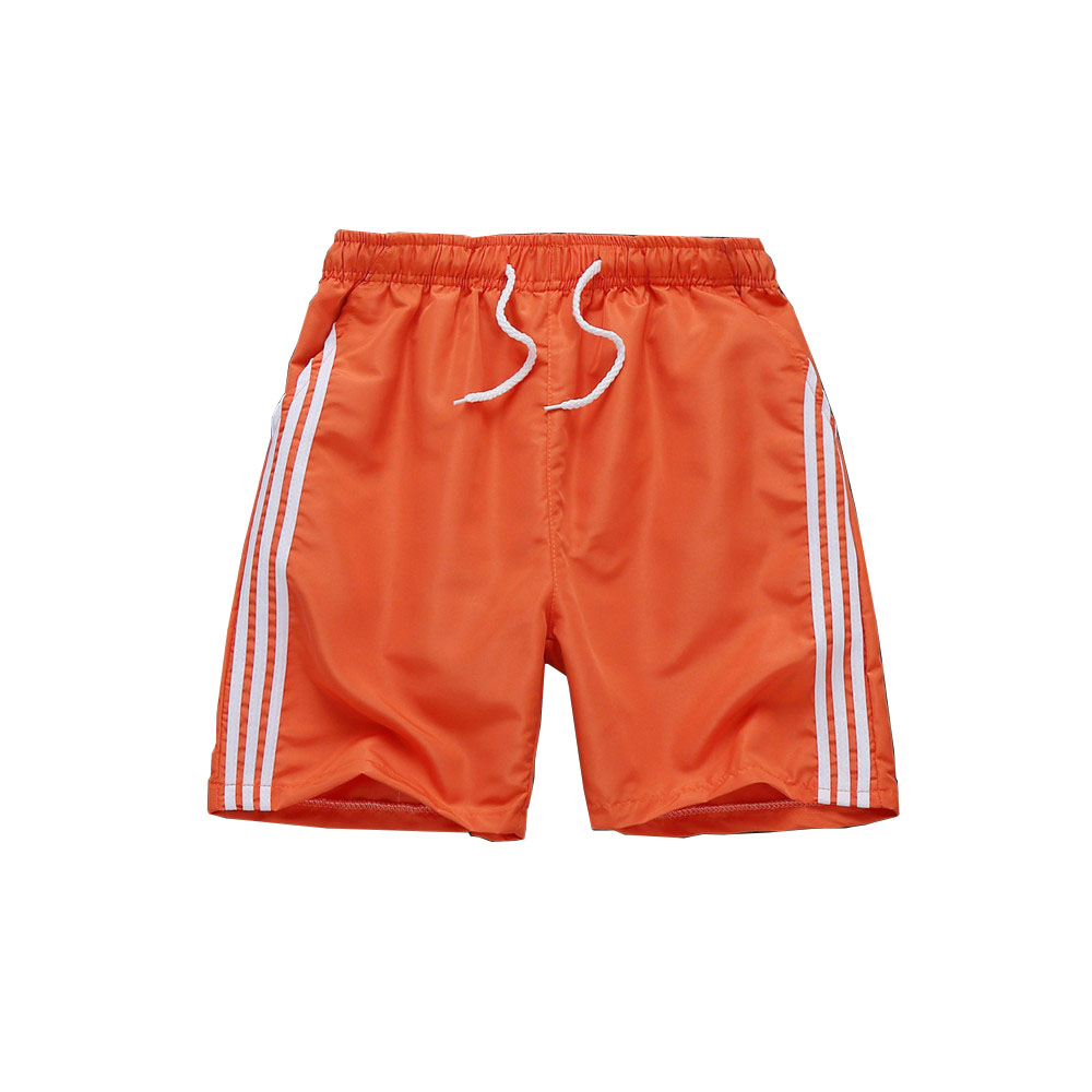 Summer new mens brand shorts fashion casual fitness shorts quick-drying breathable mens solid color stretch shorts