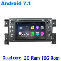 2 Din For Suzuki Grand Vitara 2005 2013 Android 7 1 Quad Core Car Dvd Radio