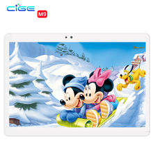 M9 10 pulgadas de metal tablet PC Android tablet Pc Phone call octa core 4 GB RAM 64 GB ROM Dual SIM GPS FM bluetooth del IPS tabletas
