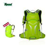 ANMEILU Outddor Backpack 20L Waterproof Rucksack For Hiking Camping Breathable Shoulderbag With Helmet Net And Rain