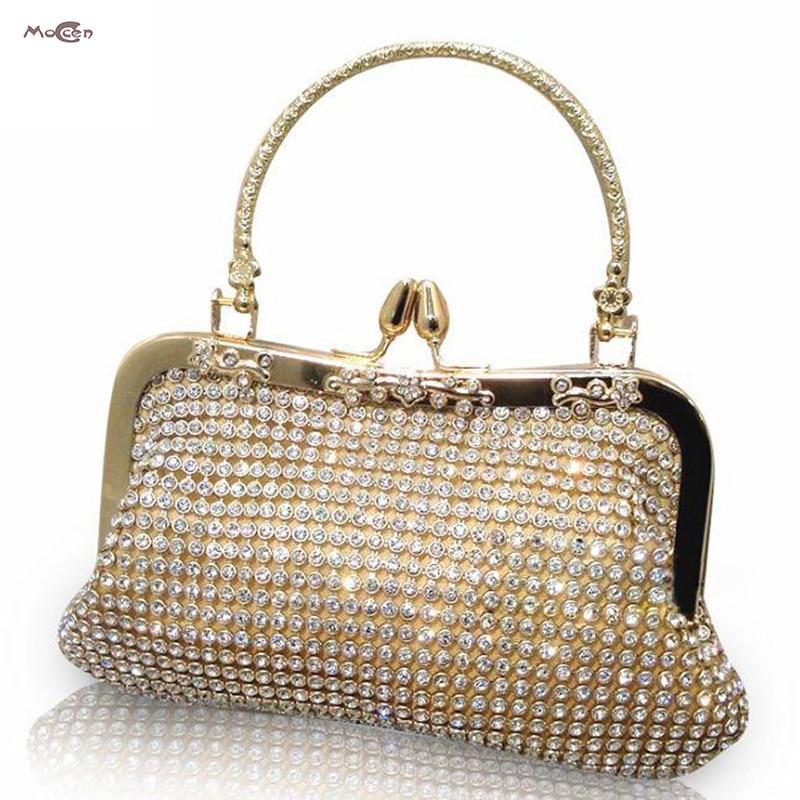 Moccen Female Evening Handbag Luxury Wedding Handbags Designer Bride Evening Clutch High Quality Purses And Hand Bag