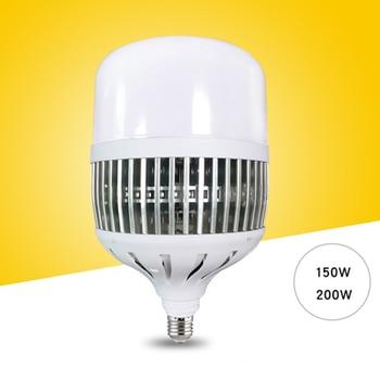 لمبة ليد 150 واط/200 واط E27/E40 مصباح ورشة عمل فائق السطوع عالي الطاقة مصابيح إنارة داخلية للمصانع-M25