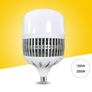 Image 1 - Ampoule 150W/200W LED ampoules E27/E40, très brillante, lampe pour atelier, usine, éclairage dintérieur, cour, M25