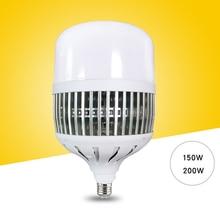 Bombilla LED de 150W/200W, E27/E40, lámpara superbrillante DE ALTO Taller de poder, luces interiores de fábrica, lámparas de patio, M25