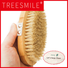 Hot Dry Skin Body Soft natural bristle the SPA Brush Wooden Bath Shower Bristle without Handle