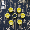 15*18mmTattoo Ink Cups Caps 500 Pcs Pigment Supplies Plastic Yellow Ink Cups Free Shipping