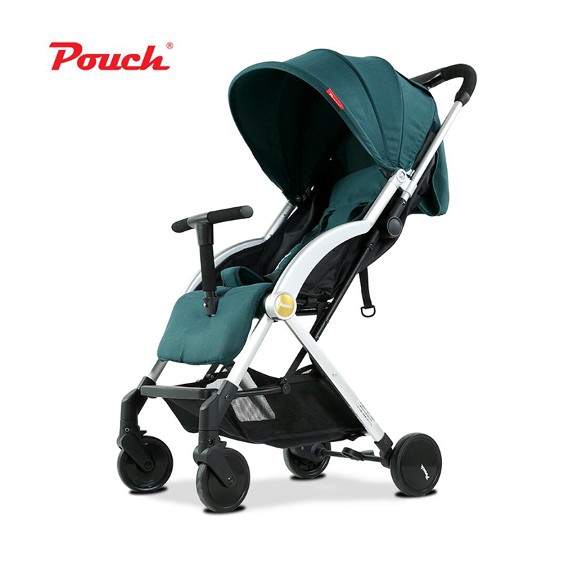 Pouch baby stroller  light baby car cart child cart folding umbrella carts baby stroller ultra light portable folding cart shock absorbers car umbrella bb baby child small baby car