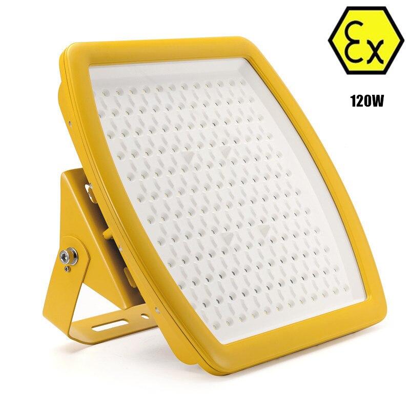 IECEX ATEX UL отражатели анти взрывозащищенные лампы 120 Вт AC110 240v класс I зоны 1 120 Вт взрывозащищенные светодиодный свет wallpack