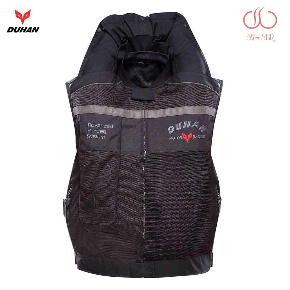 Motorcycle air bag vest Duhan air bag vest moto racing professional advanced air bag system motocross