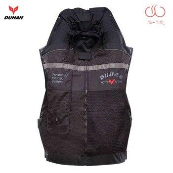 Chaleco de aire de Moto rcycle, Chaleco de bolsa de aire Duhan, chaleco de moto racing, Sistema Avanzado profesional de bolsa de aire, moto de protección cruzada, cilindro de airbag