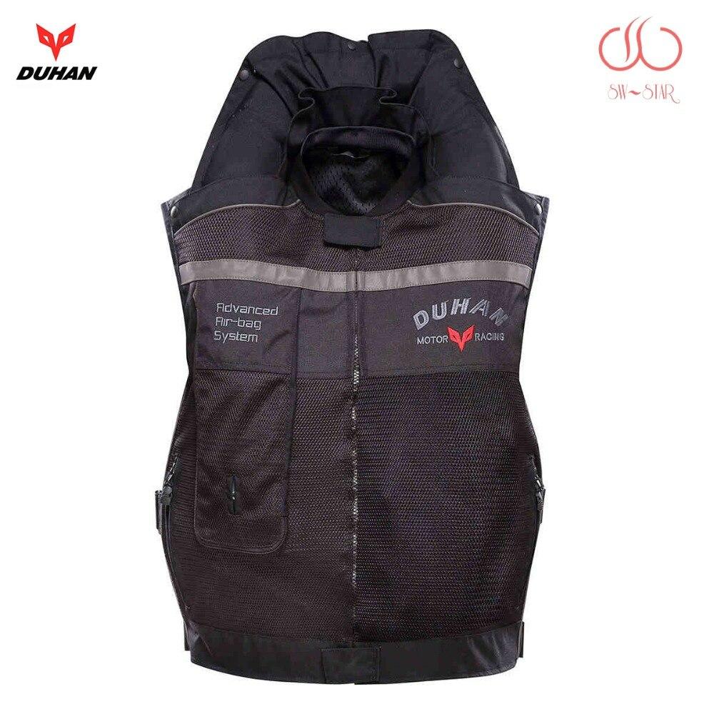 Moto rcycle ar-saco colete saco colete saco de ar moto Duhan corrida profissional avançado sistema de air bag moto de proteção cruzada airbag cilindro