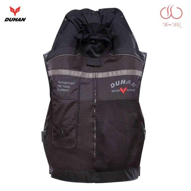 Motorcycle air bag vest Duhan air bag vest moto racing professional advanced air bag system motocross protective airbag cylinder
