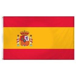 Johnin bandeira espanha esp es espana, 90x150cm