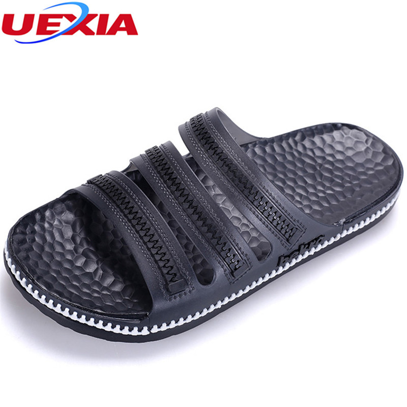 UEXIA New EVA Crocus Clogs Men Slip On Garden Lightweight Beach Sandals For Men Casual Water Slippers Men Shoes Footwear Slip On