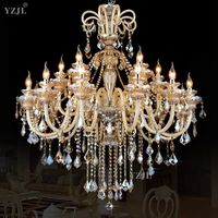 High Level large Chandelier Lighting crystal chandelier Luxurious Export K9 Crystal Chandelier new arrival Crystal chandelier