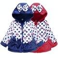 2015 Novo Minnie Menina Casaco Crianças Jaqueta Casaco de Inverno Para Baixo Crianças Parka Meninas Outwear Quente de Pato Para Baixo Parka Alta Qualidade