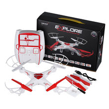 2016 Hot Sale DWI X6 RC Drone with Camera 2.0MP HD 2.4G 4CH RC Quadcopter Remote Control Helicopter