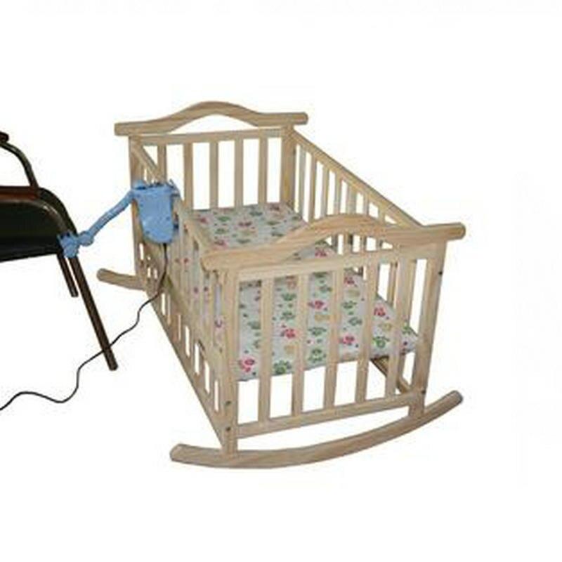 Hiçbir Radyasyon Elektrikli Sallanan Bebek Beşik Bebek Salıncak çam