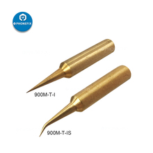 PHONEFIX 900M-T Copper Soldering Iron Tips Jumper Wire Solder Iron Parts for