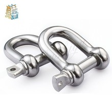 D Rigging Shackle for Boat , 304 Stainless Steel Dee Type rigging , snap shackle M12 M14 M16 M20 M25 M28 M32