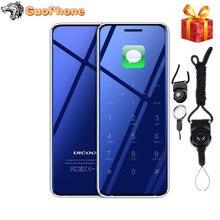 """ULCOOL V99 V66A 1.67"""" Phone Super Mini Ultrathin Card Luxury MP3 Bluetooth 2.0 Dialer Anti-lost Dual SIM Ultra Phone"""