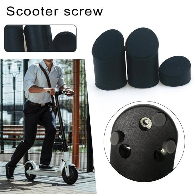 New Scooter Rear Fender Screw Silicone Cover Screw Hole Rubber Plug Waterproof Plug For Xiaomi M365 Electric Scooter Accessories