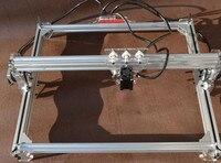 Benbox 3000 mw láser máquina de grabado de bricolaje mini grabador láser de gran área de trabajo 65*50 cm potencia del láser soporte ajustar