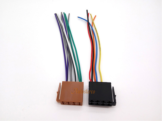 autostereo universal iso standard radio wire cable wiring harness rh aliexpress com Aircraft Wire Harness Steel Wire Cable Tensioner