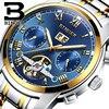 Switzerland BINGER Watches Men Luxury Brand Tourbillon Sapphire Luminous Multiple Functions Mechanical Wristwatches B8601 10