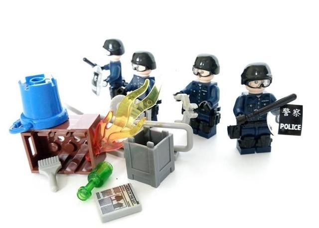 Specjalne Squad Tactical Oryginalny Blok Zabawki Akcesoria Miasto