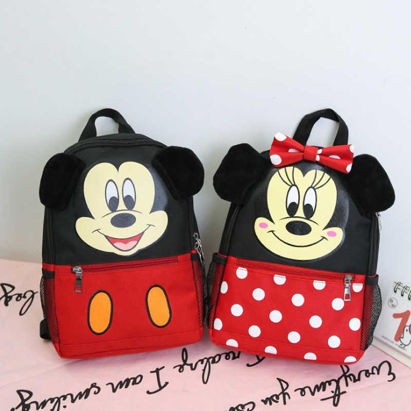 Backpack Micky mouse School Kids Children Lovely Small Bag Christmas Gift girls