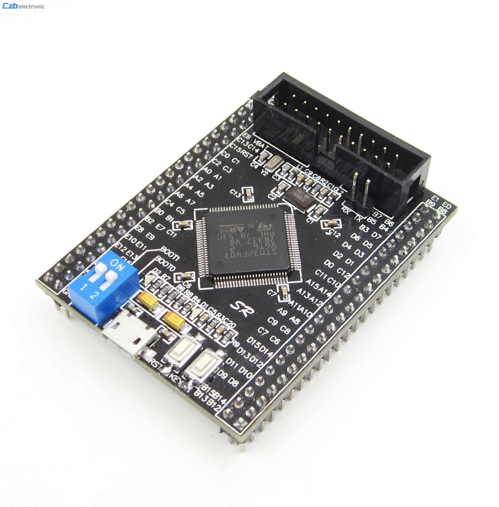 STM32F407VGT6 ARM Cortex-M4 32bit MCU Core Development Board STM32F4Discovery 5pcs lot stm32f303cbt6 stm32f303 cbt6 mcu 32 bit arm cortex m4 72mhz 128kb mcu fpu