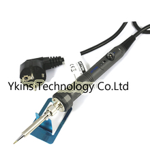 Внимание AT-SA-50 220 V-240 V 50W Электрический паяльник для подключения к ОУР Регулируемая температура сварки паяльник паяльная станция