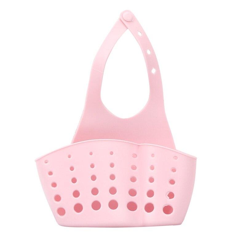 2018 Fashion Home & Garden Portable Home Kitchen Hanging Drain Bag Basket Bath Storage Tools Sink Holder kitchen drain basket