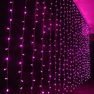 Image 2 - 3x3/6x3/10x3m LED Icicle String Lights Christmas Fairy Lights garland Outdoor Home For Wedding/Party/Curtain/Garden Decoration