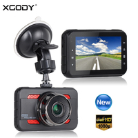 XGODY A80 3 Car DVR Cam Dash Camera Driving Video Recorder G sensor Motion Detection Loop Recording Full HD 1080P DVR Dashcam