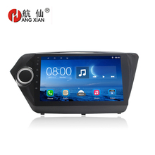 Bway 9Car radio for KIA K2 2011 2012 2013 2014 2015 2016 Quadcore Android 6.0.1 car dvd player with 1 G RAM,16G iNand