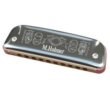 Hohner Diatonic Harmonica 10 Hole Blues Harp Mouth Organ Instrumento ABS Comb Key C Musical Instrument Germany Golden Melody 542
